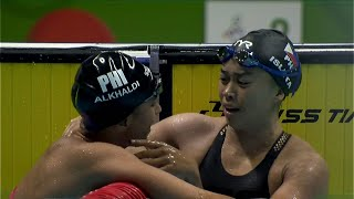 2-3 finish for the Philippines in women's 100m breaststroke event!   2019 SEA Games