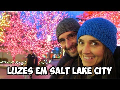 LUZES EM SALT LAKE CITY -T.3/EP.61  | VIAGEM | VOLTA AO MUNDO | TRAVEL AND SHARE | ROMULO E MIRELLA
