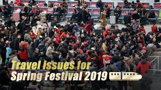 Live: Travel issues for Spring Festival 2019国新办召开2019年首场春运发布会