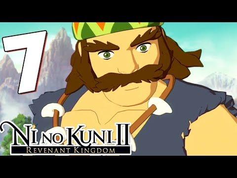Ni No Kuni 2 Walkthrough Part 7 Battle for the Heartlands! (PS4 Gameplay)