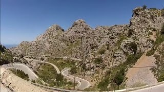 Mallorca Cycling Camp Video #7 Indoor turbo Trainer Workout 120 Minute Full HD Drift Camera(2 Stunden Sonnen Training auf Mallorca 2014 Tag 5 Teil 1 165 Kilometer 2800 Höhenmeter 6 Zacken Tour;-) Palma de Mallorca,Calvia,Es Capdella,Andratx, ..., 2014-05-18T00:07:43.000Z)