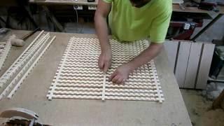 Еще раз о декоративной решетке.  A lattice of wood