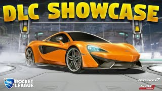 New McLaren 570S DLC Showcase On Rocket League