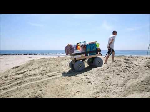 Electric Beach Wagon For The Sand