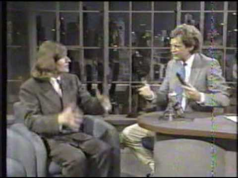 Crispin Glover on Letterman, 8/21/87