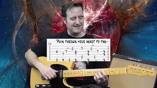 John Mayer - Heart of Life(live) WTLI - Guitar Lesson & TAB