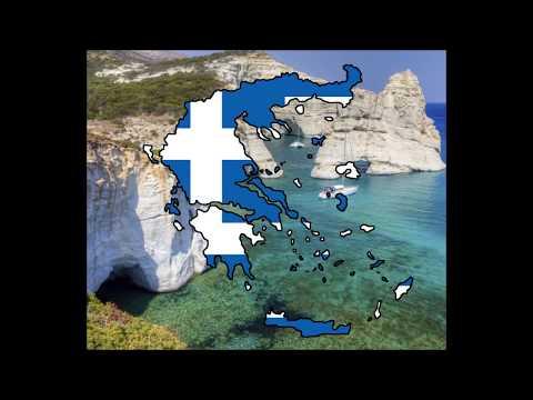 Flagmap of Greece! Timelapse