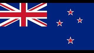 Флаг Новой Зеландии.