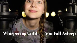 ASMR Whispering to You Until You Fall Asleep