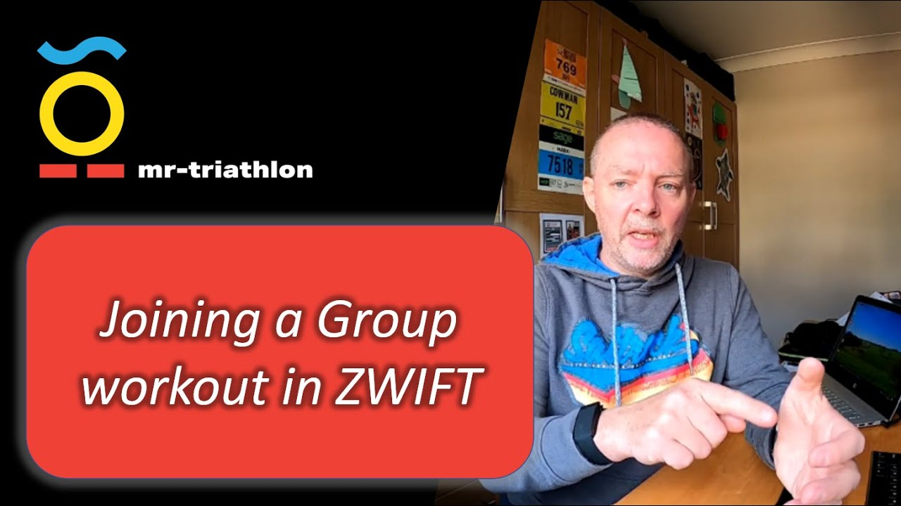 How to join a zwift group workout
