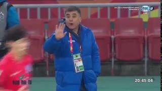 Чемпионат Азия U-23 Узбекистан-Корея. Доп.тайм