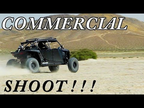 We shot a commercial!? Polaris RZR - Chevron Techron Power Sports