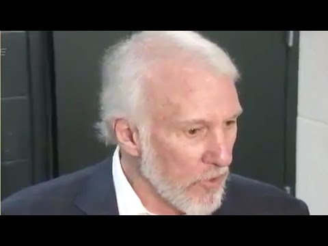 Gregg Popovich RIPS the Spurs A New Butthole In Post-Game Interview