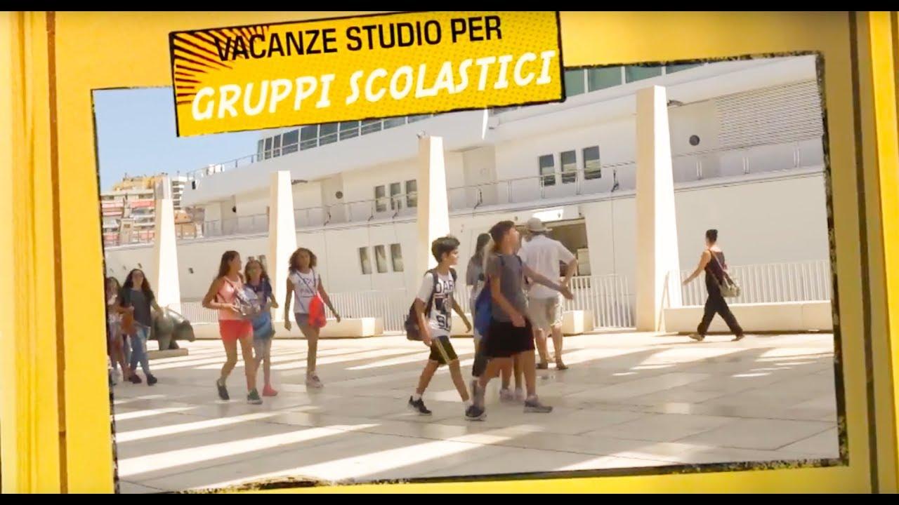 Vacanze studio in Spagna Soggiorni linguistici per gruppi scolastici a  Malaga Spagna