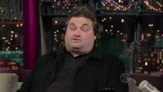 "Artie Lange On David Letterman ""Too Fat To Fish"" 2009"