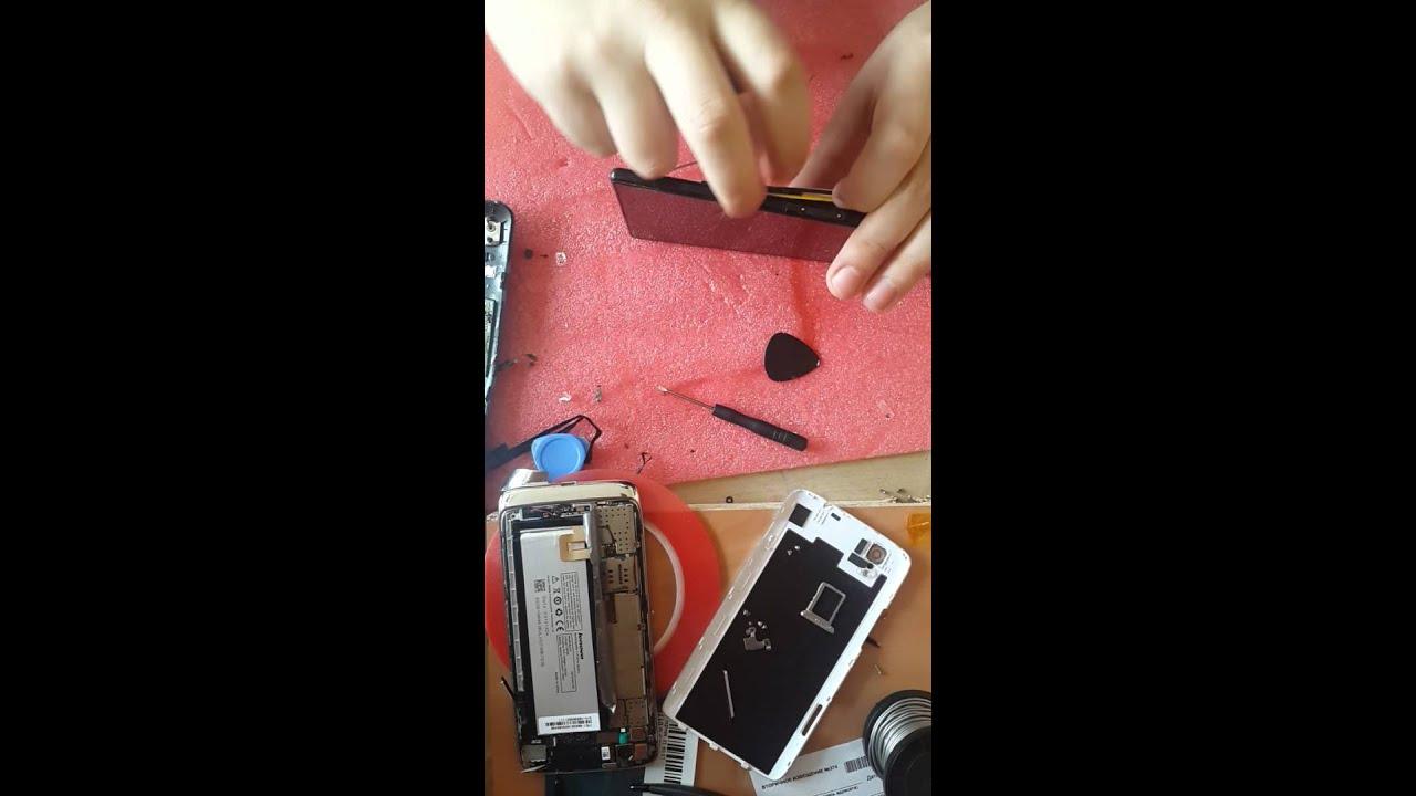 Замена дисплея и сенсора (тачскрина) Sony Xperia Z (c6603 .