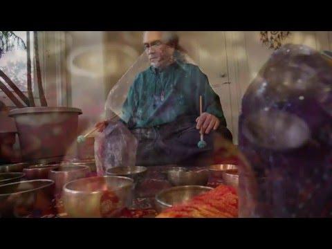 Amethyst Meditation~30 Min~w/Tiny Tibetan Singing Bowls