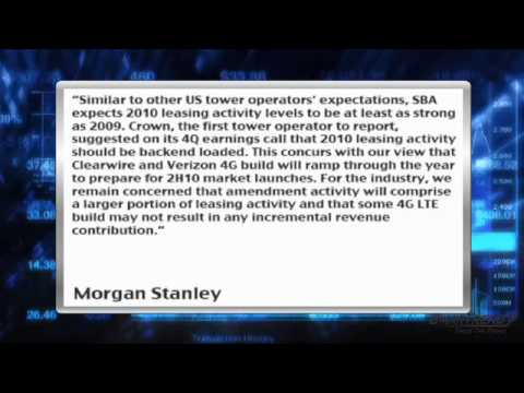 News Update: Morgan Stanley Expects Growth For SBA Communications (NASDAQ: SBAC)