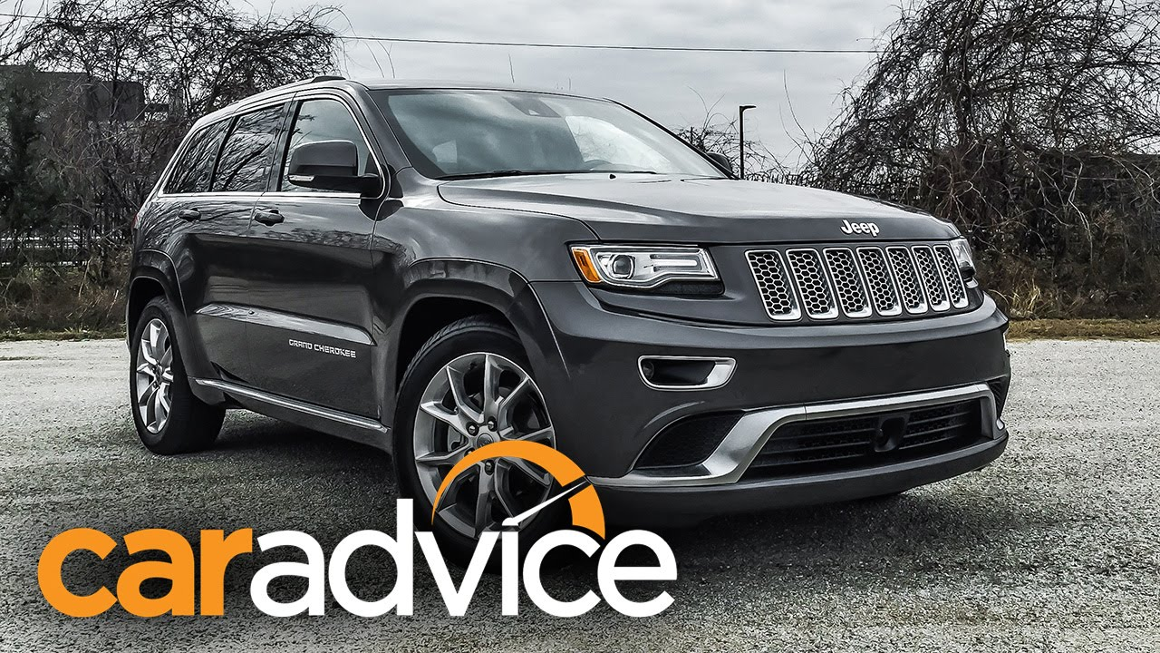 jeep grand cherokee summit platinum first drive - active noise