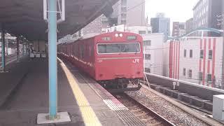 JR西日本 103系 LA01編成