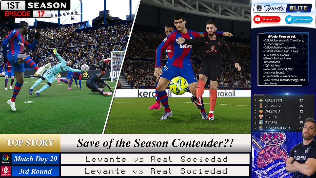 [TTB] PES 2021 MASTER LEAGUE #17   SAVE OF THE SEASON CONTENDER?!   WHATS THE REF BEEN SMOKING?