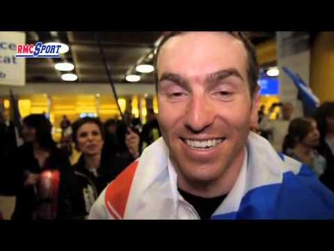 JO / Sotchi : Les athlètes français accueillis en champions à Genève - 24/02