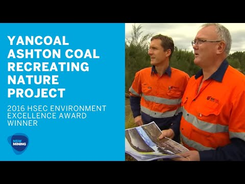 Environment Excellence - Ashton Coal Operations, Yancoal (Recreating Nature)