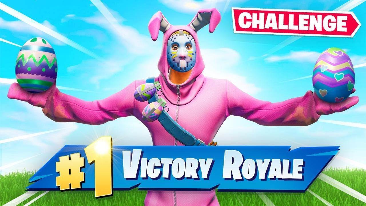 The Easter Challenge In Fortnite Youtube