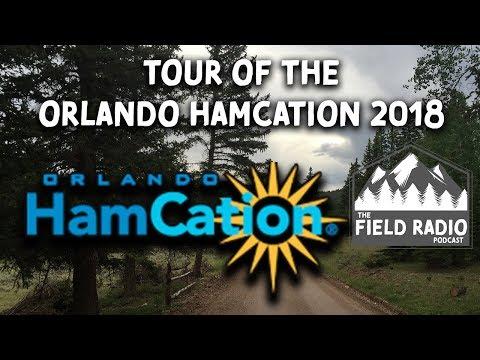Orlando HamCation 2018 - Tour of Amateur (Ham) Radio Hobby
