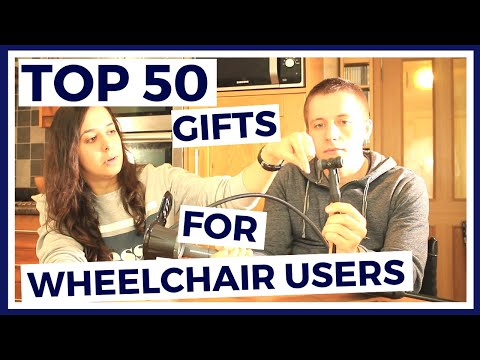 Paraplegics TOP 50 Items And GIFTS For WHEELCHAIR USERS - Paralife Episode 35