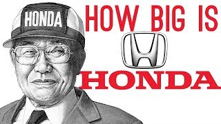 How BIG is Honda?   Honda Documentary