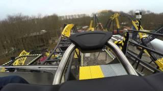 Lost Gravity | Walibi Holland | Onride POV (4K)