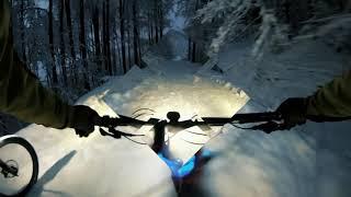 Snowbiken Damberg bei Steyr
