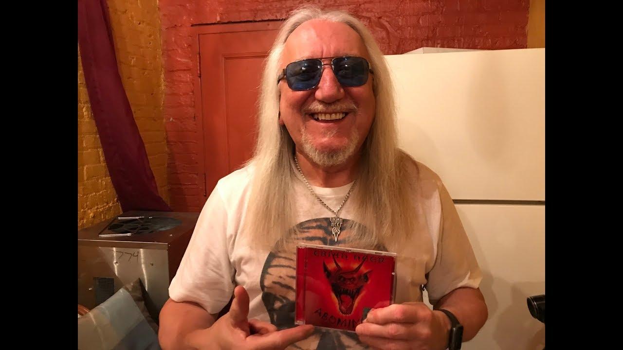 Uriah Heep Mick Box Talks About Abominog With Mark Kadzielawa Youtube