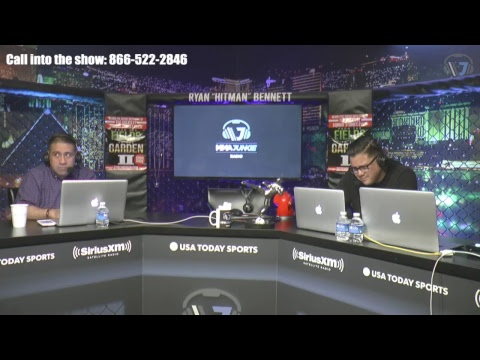 Cris Cyborg and Stephen Thompson are on today's show.