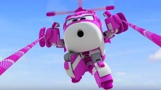 Мультики - Супер Крылья - Джет и его друзья - Самолеты-трансформеры - Все серии подряд