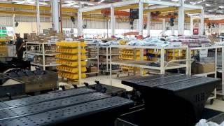 ANTARANEWS - Mengintip kegiatan fasilitas perakitan UD Trucks di Sunter, Jakarta Utara
