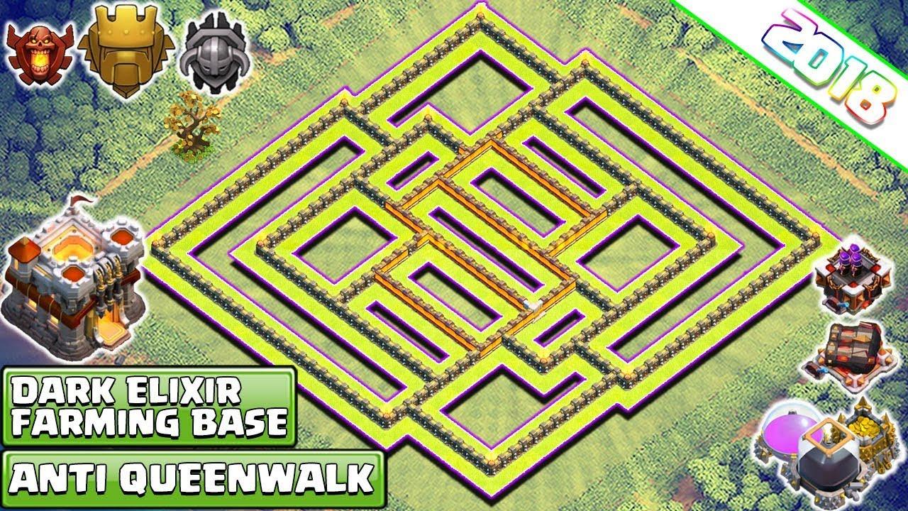Maze Coc Th11 Farming Base 11