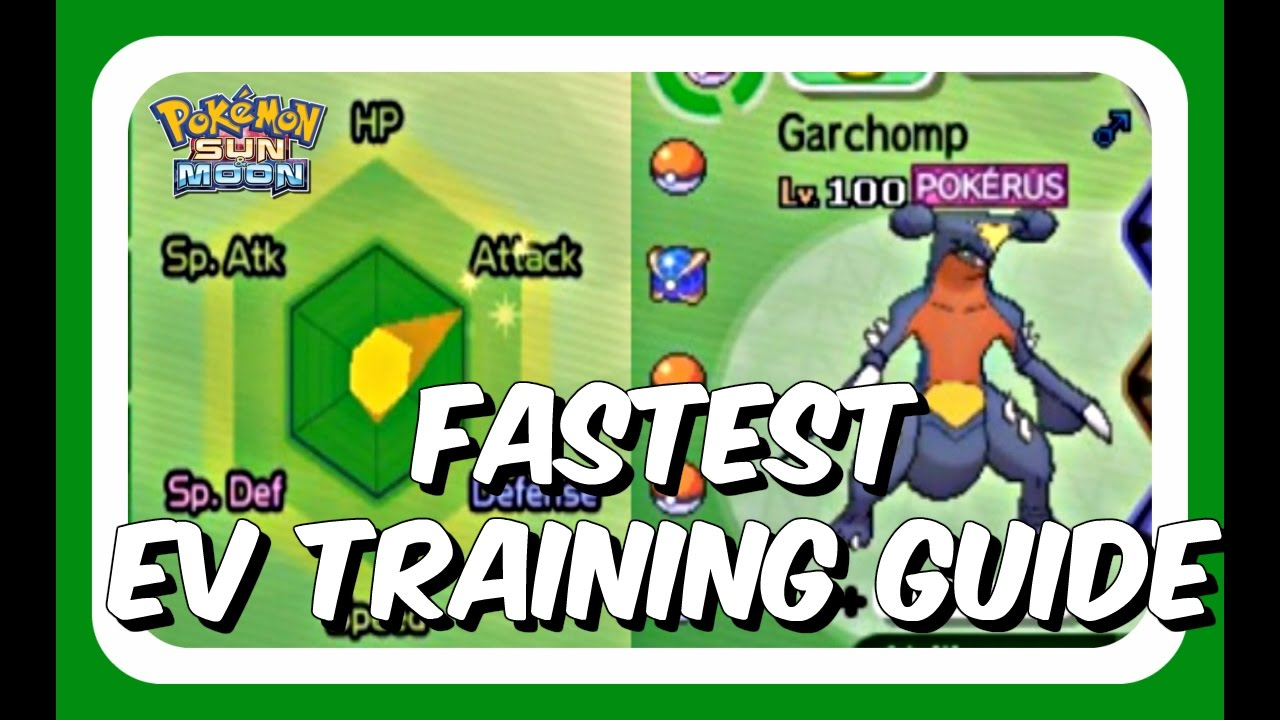 Fast Ev Training Guide Pokemon Sun And Moon Best Sumo Guide On