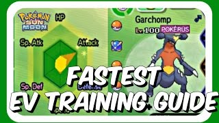 Fast EV Training Guide - Pokemon Sun And Moon (Best SuMo Guide on the Youtube)