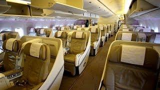 SAUDIA Boeing 777-300ER Riyadh To Dubai