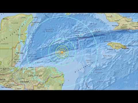 M7.6 Earthquake triggers tsunami warnings