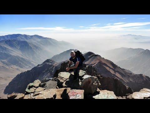 Toubkal Ascent, Atlas Mountain, Morocco - 27 September 2016