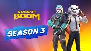 3 СЕЗОН КАРЬЕРЫ в Guns of Boom!