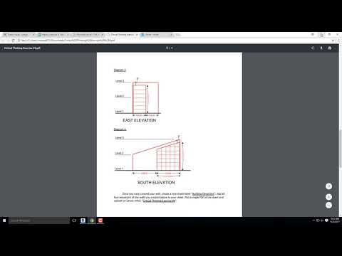 Revit 2018 Tutorial- Critical Thinking Exercise 4- Storefronts, Curtain Walls