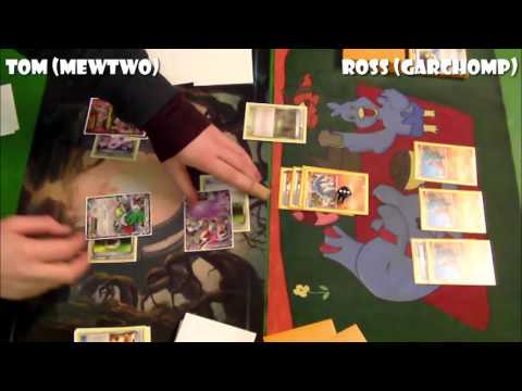 Pokémon TCG - BREAKPoint Legal (!) Cities: R4: Mega Mewtwo vs Garchomp