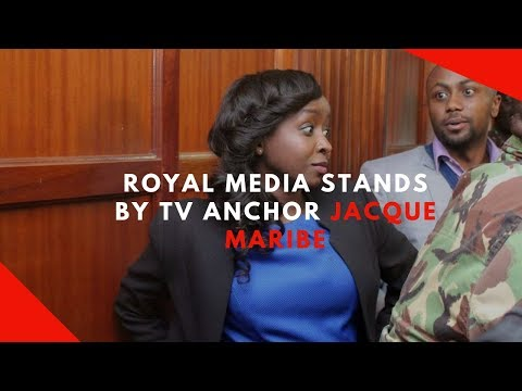 Royal Media stands by TV anchor Jacque Maribe