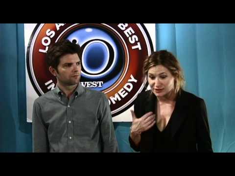 Adam Scott and Kathryn Hahn Discuss Improv