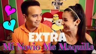 MI NOVIO ME MAQUILLA ♡ | EXTRA !! Thumbnail