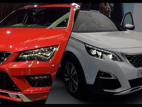 Peugeot 3008 2020 vs. Seat Ateca 2020